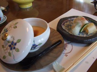 茶碗蒸し・寿司